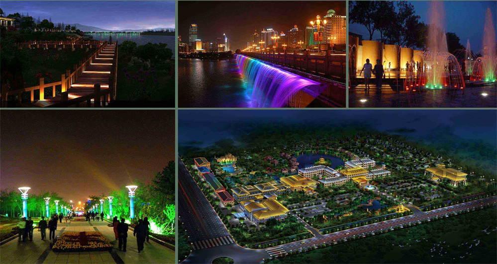 正诺照明工程设计公司是景观亮化设计公司